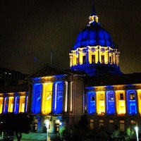 Photo taken at San Francisco City Hall by Eric M. on 5/11/2013