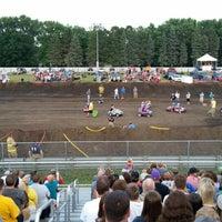 Photo taken at Dakota County Fairgrounds by Patrick D. on 8/9/2014