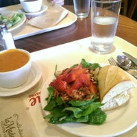 Photo taken at la Madeleine Country French Café by arapix on 10/10/2014