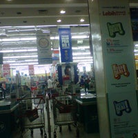 Photo taken at Carrefour by Sigit M. on 4/12/2014