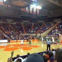 Photo taken at Littlejohn Coliseum by Maine D. on 12/16/2012
