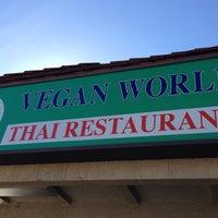 Photo taken at Vegan World by Anthony M. on 12/30/2013