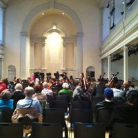 Photo taken at St. Mark's Church in the Bowery by Brian C. on 11/17/2012