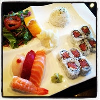 Photo taken at Sushi Ajito by Elise A. on 9/18/2012