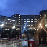 Photo taken at BBC Television Centre by Malik M. on 10/26/2012
