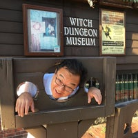 Photo taken at Witch Dungeon Museum by Daniel E. on 8/28/2016
