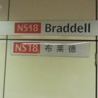 Photo taken at Braddell MRT Station (NS18) by Shu Todoroki™ on 3/2/2013