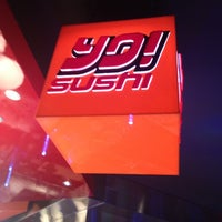 Photo taken at Yo! Sushi by Virginia P. on 12/30/2012