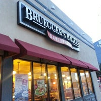 Photo taken at Bruegger's Bagels by Laurie J. W. on 1/10/2013