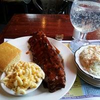 Photo taken at New York's Original BBQ Restaurant by Jannx B. on 9/16/2012