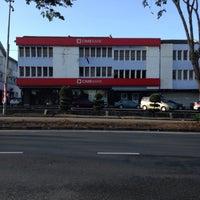 Photo taken at CIMB Bank by Amira R. on 4/14/2014