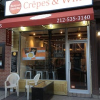 Photo taken at Bonjour Crêpes & Wine by Parvez E. on 3/3/2013