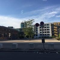 Photo taken at Rainer-Werner-Fassbinder-Platz by Ludwig P. on 8/28/2016