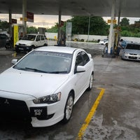 Photo taken at Shell by WAN AHMAD R. on 1/20/2013