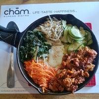 Photo taken at CHAM Korean Bistro by e*starLA on 11/23/2013