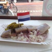 Photo taken at Haringhandel Van Dok by Martijn v. on 6/21/2014