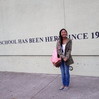 Photo taken at Claremont Middle School by Samsarah M. on 8/25/2014