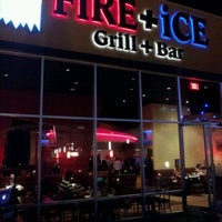 Photo taken at FiRE + iCE Grill + Bar by Marc N. on 9/15/2012