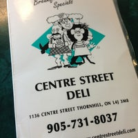 Photo taken at Centre Street Deli by Jermaine A. on 12/24/2012