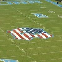 Photo taken at Kenan Memorial Stadium by Davis B. on 9/29/2012