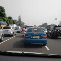 Photo taken at Jalan Tol Jagorawi by Akmal A. on 10/4/2012