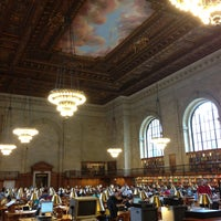 Photo taken at New York Public Library by Alejandro D. on 5/11/2013