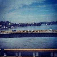 Photo taken at Mandovi Bridge by Rashmi G. on 12/8/2012