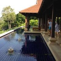 Photo taken at Pimalai Resort & Spa by Patrick John T. on 3/10/2013