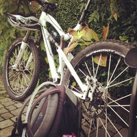Photo taken at mUwi bike goodies by Davide A. on 10/8/2012