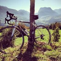 Photo taken at mUwi bike goodies by Davide A. on 10/21/2012
