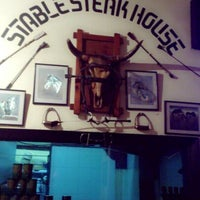 Photo taken at Stable Steak House by Siti S. on 4/13/2013