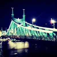 Photo taken at Liberty Bridge by Pino B. on 5/31/2013