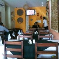 Photo taken at Quintal da Villa Restaurante by Sergio R. on 10/19/2012