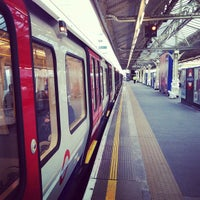 Photo taken at Hammersmith London Underground Station (Circle and H&C lines) by Ming Y. on 11/15/2012