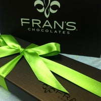 Photo taken at Fran's Chocolates by Ron M. on 8/2/2013
