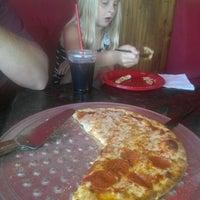 Photo taken at Mia Pizza by Christina C. on 10/9/2012