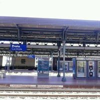 Photo taken at Stazione Prato Centrale by Lorenzo M. on 5/13/2013