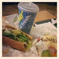 Photo taken at SUBWAY by Mandy on 9/15/2012