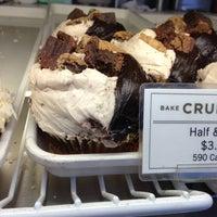 Photo taken at Crumbs Bake Shop by Funda K. on 2/23/2013