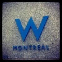 Photo taken at W Montréal by Alisia R. on 2/13/2013