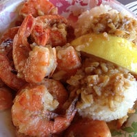 Photo taken at Giovanni's Shrimp Truck by CJ on 10/19/2012