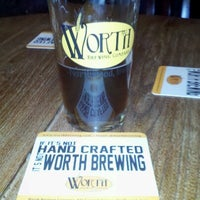 Photo taken at Worth Brewing Company by Judy T. on 3/2/2013
