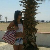 Photo taken at Sanz Beach by DiLara H. on 8/9/2013