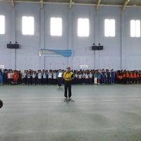 Photo taken at GOR Mampis Rungan by Budi v. on 2/25/2013