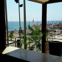 Photo taken at Beach Bar Limra by Fatih K. on 9/9/2016