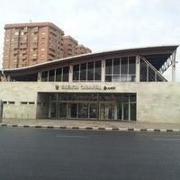 Photo taken at Estació de Tren - València-Cabanyal by Africa B. on 10/25/2012