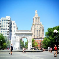 Photo taken at Washington Square Park by Kirsten A. on 6/19/2013