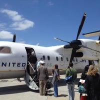 Photo taken at Charlottesville-Albemarle Airport (CHO) by Ashley T. on 5/5/2013