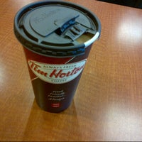 Photo taken at Tim Hortons by Guido D. on 4/19/2013