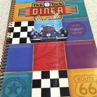 Photo taken at Tick Tock Diner by Martha C. on 10/6/2012